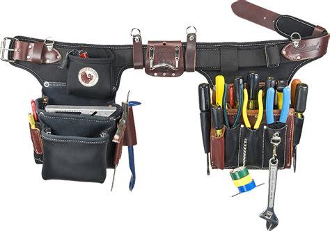 tool belt setup occidental leather 9596 adjust to fit pro electricians