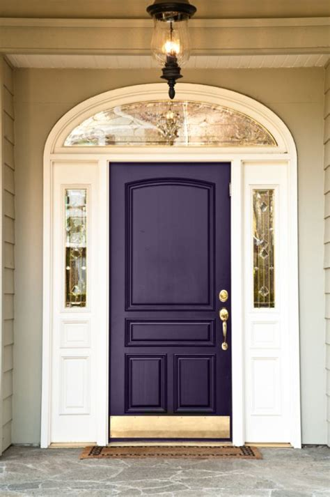 Plum Front Door Coloring The Front Door Meanings And Inspiration