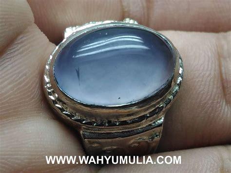 Blue Spirtus Baturaja batu cincin akik biru spirtus baturaja asli kode 590