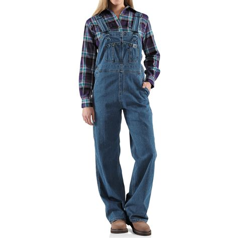 Comfort Colors Washed Denim - carhartt denim bib overalls unlined for women