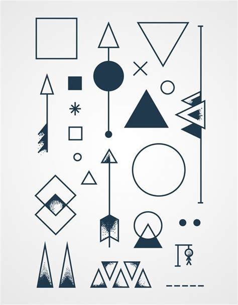tattoo simple shapes 1000 images about hipster tattoos on pinterest 2spirit