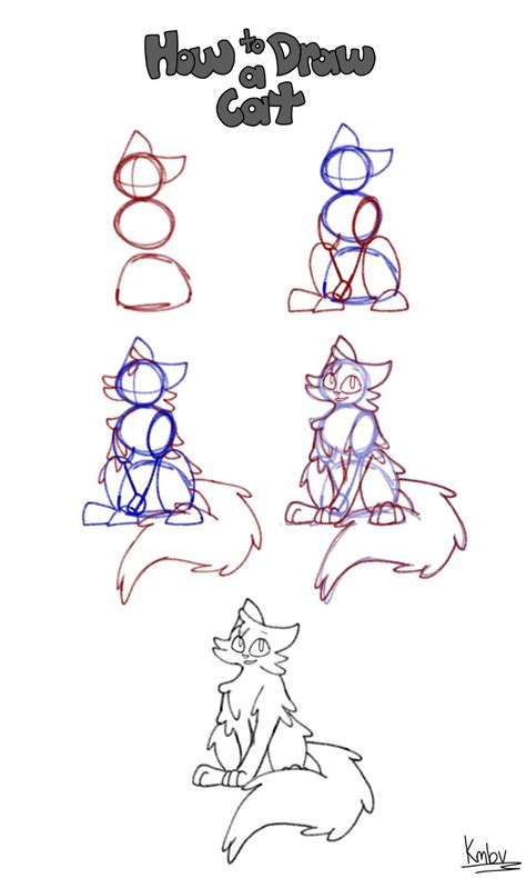 how to make doodle names step by step how to draw a cat step by step by hawklynx on deviantart