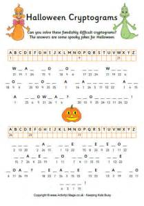 halloween cryptogram 1