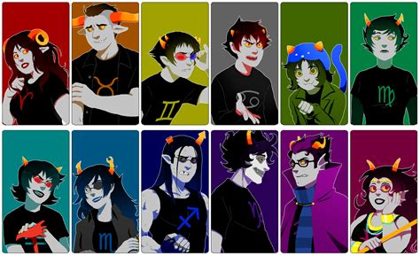 homestuck favourites by abombinallsnowman on deviantart