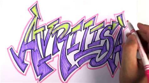 graffiti writing avrilisa  design    names
