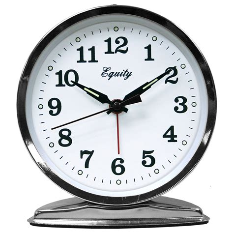 equity by la crosse wind up loud bell alarm clock ebay