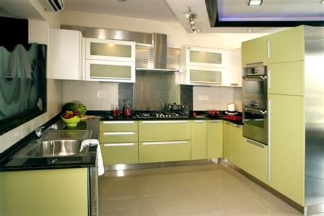 steel kitchen cabinets india stainless steel modular kitchen in udyog vihar phase iv