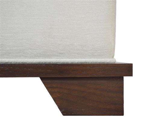 Nbs Custom Upholstered Ottoman For Sale At 1stdibs Custom Upholstered Ottomans