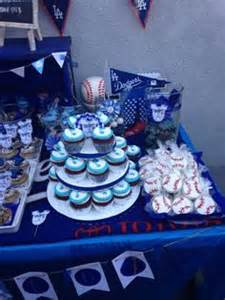 boy baby shower on dodgers los angeles