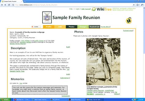 Family Reunion Postcards Printable 9jasports Free Family Reunion Website Template