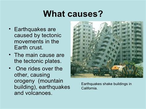 what causes earthquakes earthquake information the gallery for gt causes of earthquakes