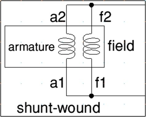 dc shunt motor theory dc wiring diagram and circuit