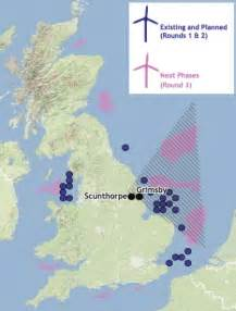 wind farms map the gallery for gt offshore wind farms map