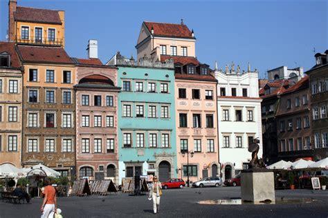 of town the town marketplace in warsaw rynek starego miasta steve s genealogy