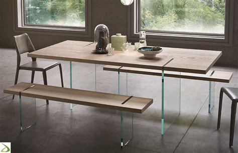 piedi tavolo tavolo design con gambe in vetro fliam arredo design