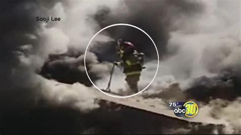 anaheim firefighter falls through roof firefighter falls through roof while battling