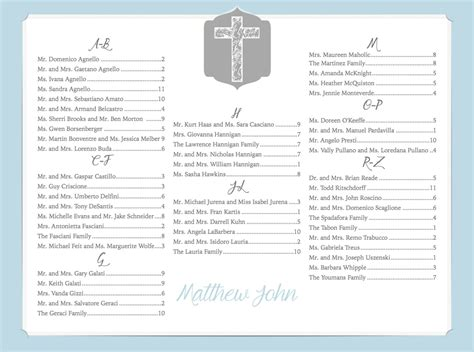 guest seating cards template fee included customized seating chart for baptism