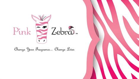 Pink Zebra Business Card Design 4 Pink Zebra Business Card Template Free