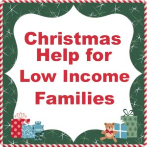 christmas help for low income families with united