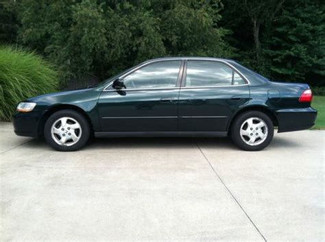 98 honda accord mpg find used 1998 honda accord 4dr lx in sparrows point