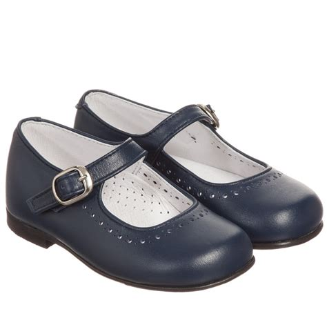 blue leather shoes children s classics navy blue leather