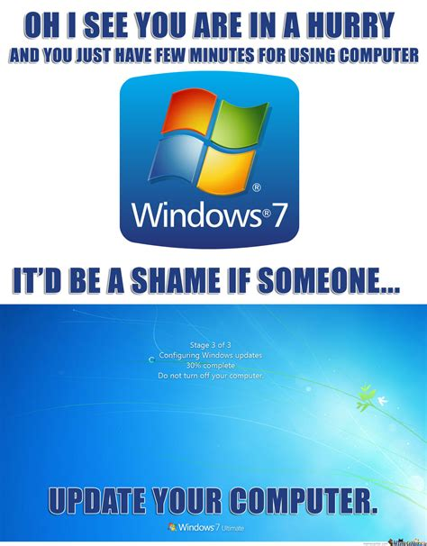 Windows Meme - scumbag windows by ben meme center