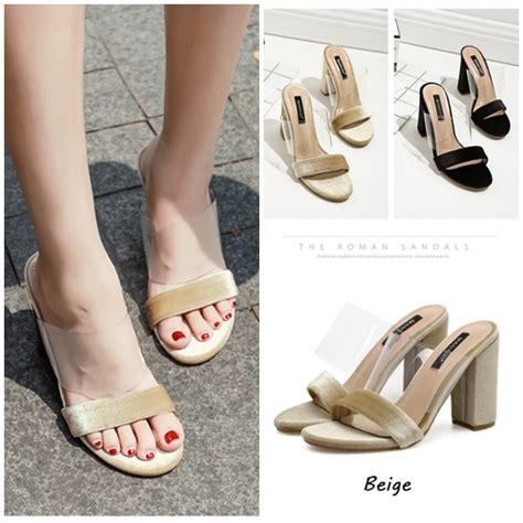 Sepatu Suede Cantik Pc Jual Shh59415 Beige Sepatu Heels Suede Cantik 10 5cm