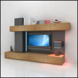 tv wall unit modern design x 05 entertainment center 3d - Modern Entertainment Wall Units