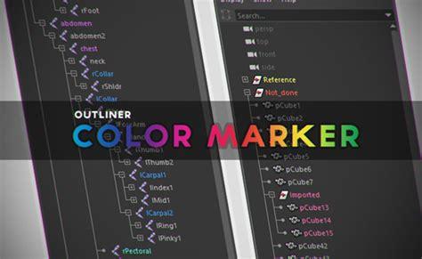 color maker outliner color marker script for adds new features