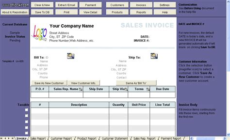 Sale Soft Number template with line number on invoice