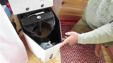 Composting Toilet Smell by Emptying And Replacing The Waste Reservoirs In The