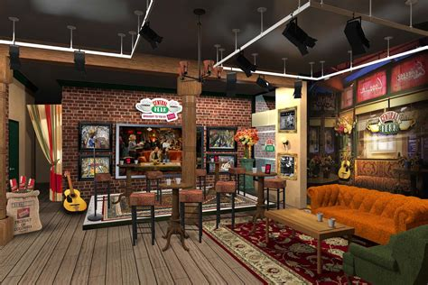 coffee shop in new york central perk coffee shop from the television show