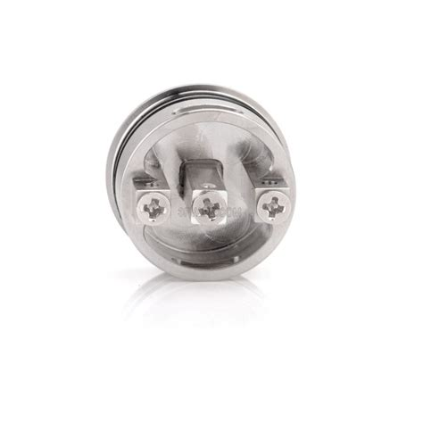 Rda Two 22mm Atomizer two white 22mm stainless steel rda rebuildable