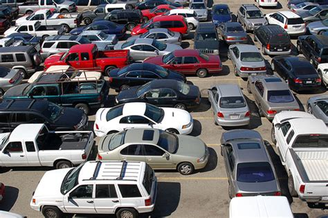 regulate traffic in parking lots with the help of