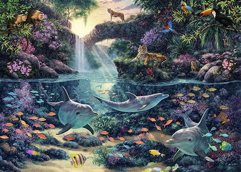 imagenes de paisajes acuaticos im 225 genes arte pinturas paisajes coralinos acu 225 ticos con