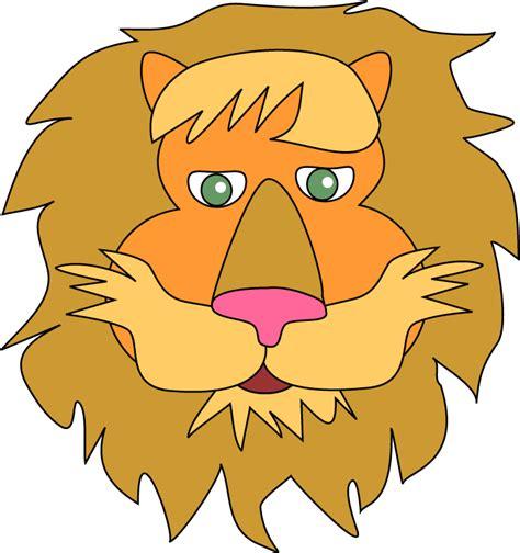drawing kids of masks clipart best lion mask clipart best