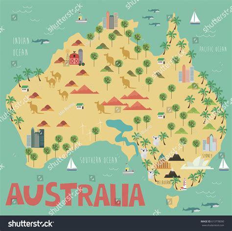 map of landmarks 2 australia landmarks map all world maps