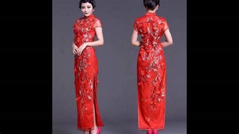 Dress Shanghai flowered cheongsam traditional shanghai china dress