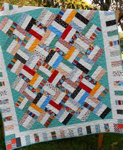 jelly roll quilt pattern sticks baby and throw