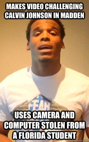 Calvin Johnson Meme - makes video challenging calvin johnson in madden uses