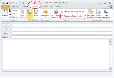 Office 365 Outlook Read Receipt How To Ensure My Email Is Read By Recipient Computing