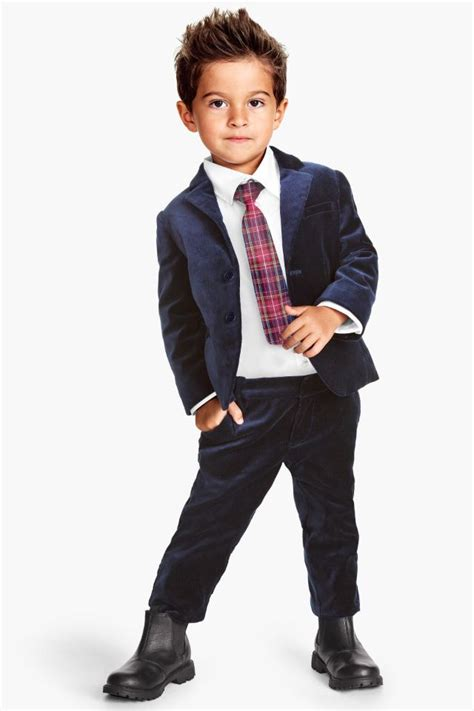 C Kid Toxedo h m sharp suit for o clothes