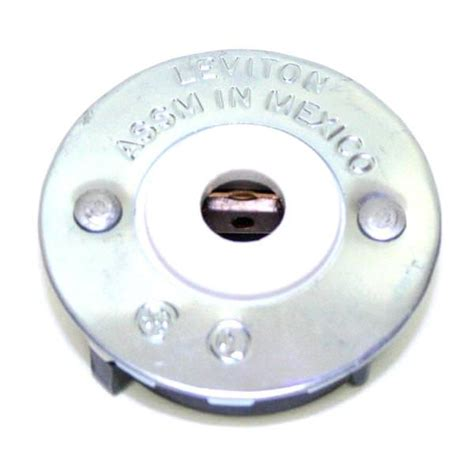 leviton replacement general 00152 slimline single pin button snap in