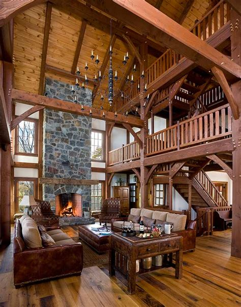 cozy timber frame homes  fireplaces discover timber