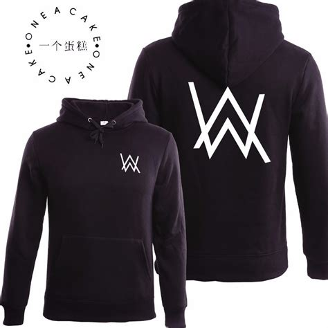 Hoodie Alan Walker Salsabila Cloth 1 winter fleece sweatshirt alan walker faded hoodie sign printing hip hop rock sweatshirt