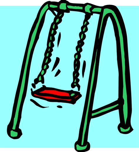 swing clip art swings free stock photo illustration of a swing set