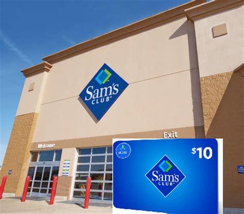 Sam S Club Membership 10 Gift Card - 1 year sam s club membership 10 sam s gift card back 25 10 target walmart