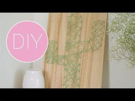 youtube wanddecoratie diy wanddecoratie cactus van draad youtube