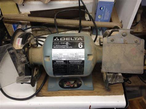 delta 6 bench grinder delta 6 inch bench grinder model no 23 681 cedar nanaimo