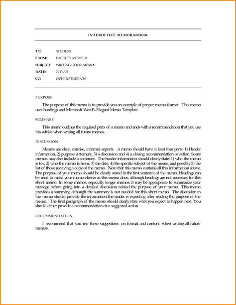 memo style template business memo exles 64332511 png letterhead template